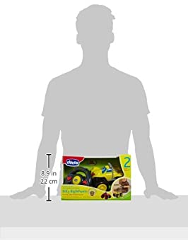 Amazon.com: Chicco Billy de radio control Ruedas grandes: Baby