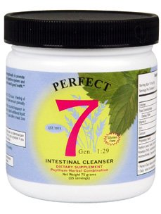 Agape Health Products - Perfect 7 Intestinal Cleanser 15 serv
