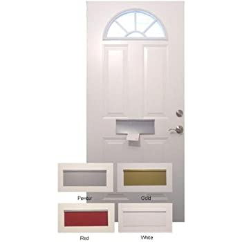 Magnetic Mail Slot Cover - WHITE - Door Mail Slots - Amazon.com
