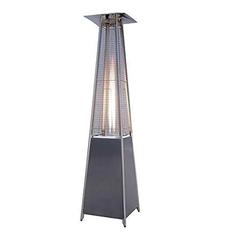 Syntesy cdf07940 Estufa a Gas Pirámide con ruedas, 20 m², antracita: Amazon.es: Bricolaje y herramientas