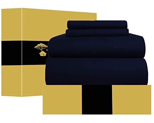Urban Hut Egyptian Cotton Sheets Set (4 Piece) 1000 Thread...