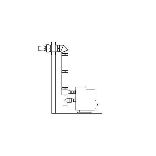 4 inch horizontal vent kit - 6