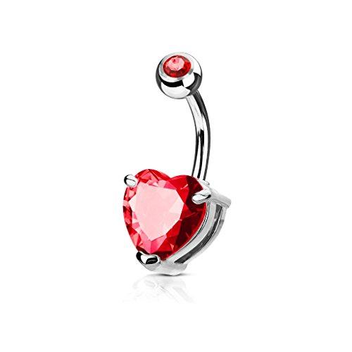 heart belly rings - 4