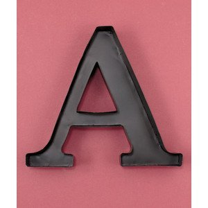 monogram wine cork holder letter a
