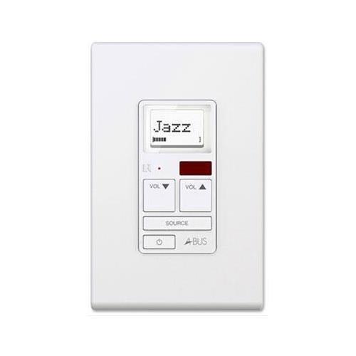 Russound 2000-534669 AK6L Amplified Keypad White