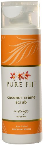 8.5 Ounce Shower Cream (Pure Fiji Coconut Creme Scrub - Mango Infusion, 8.5)