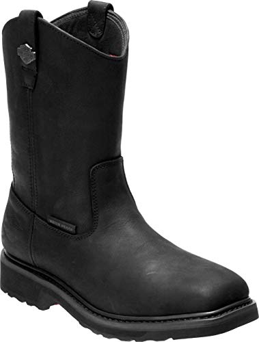 Harley-Davidson Men's Altman 10-In WP and CT Motorcycle Boots D93563 (Blk, 12)