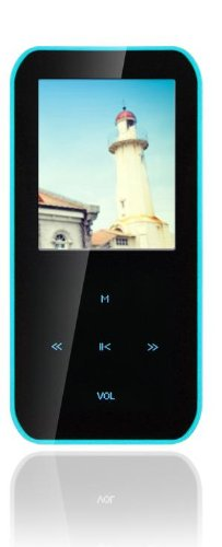 Latte LP-IPEARLS4GBLU 4 GB MP3 Player with 1.8-Inch Screen,