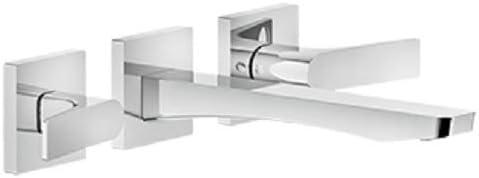 GESSI Grifería en relieve mezclador de 3 orificios para lavabo 59090_031+45089