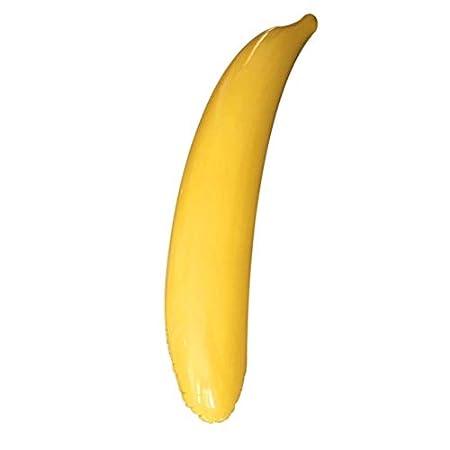 KinshopS 65 cm / 180 cm plátano Inflable PVC Fruta Inflable ...