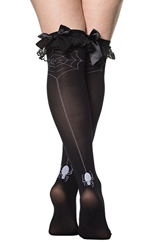 Banned Apparel Some Girls Stockings Black