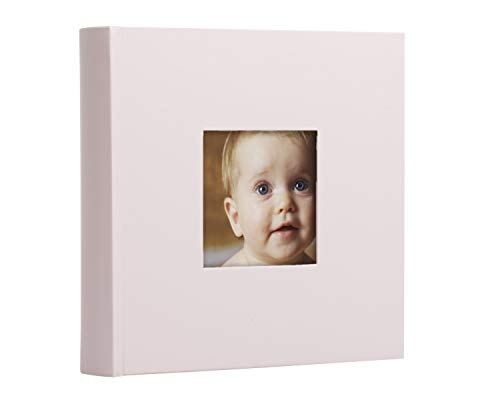 Baby Girl Ultrasound Photos - Pearhead Baby Photo Album, Light Pink