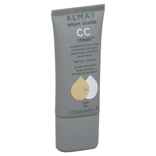 New Almay Smart Shade Cc Cream 100 Light (Pack of 2)