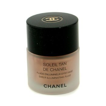 Sheer Illuminating Coverage - Chanel Soleil Tan De Chanel Sheer Illuminating Fluid - Sunkissed - 30ml/1oz