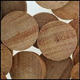 WIDGETCO 1'' Mahogany Wood Plugs, End Grain