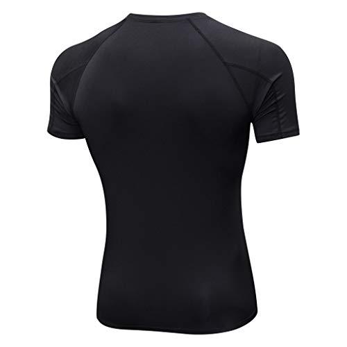 Da Yoga Allenamento Nero In Sportiva T shirt Di Sport Superiore Camicetta Esecuzione Sportive Uomo Uomo Leggings Camicia Elecenty gambali gwtCOnxp00