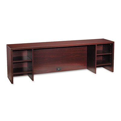 Hon 10500 Stack - HON COMPANY * 10500 Series Stack-On PC Organizer, 72w x 14-5/8d x 22h, Mahogany, Sold as 1 Each
