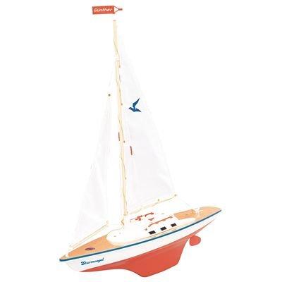 Günther 1810 Segelboot Sturmvogel aus Holz