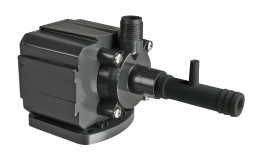 E G Danner 40125 Supreme Hydroponic Utility Pump with Venturi, 500-GPH (Fountain Danner Pump)