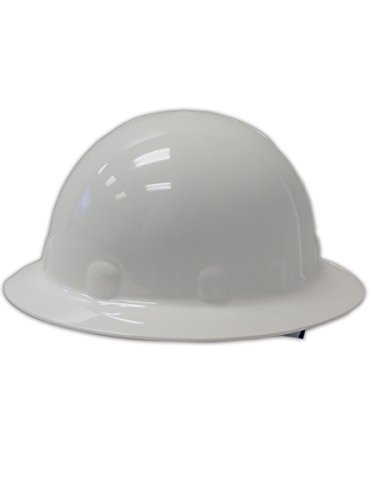 Fibre-Metal Hard Hat E1RWW Full-Brim Thermoplastic Hard Hat, White (Fibre Metal Hard Hats)