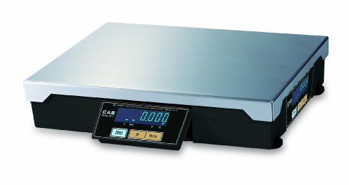 CAS PD-2 POS/Checkout Scale, LB & OZ Switchable, Upto 15lbs 0-6 x 0.002lbs/6-15 x 0.005lbs Dual Range, Legal-for-Trade