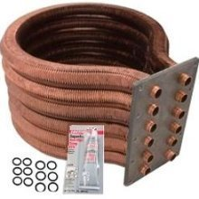 Pentair 77707-0234 Tube Sheet Coil Assembly Replacement Kit Pool and Spa Heater by Pentair