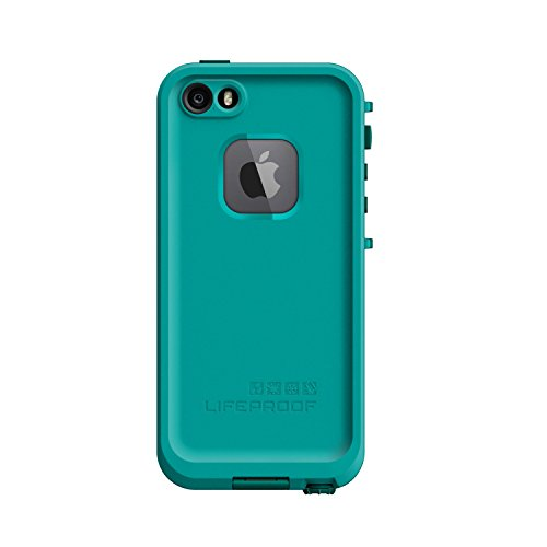 NEW LifeProof FRĒ SERIES Waterproof Case for iPhone 5/5s/SE - Retail Packaging - TEAL (DARK TEAL/TEAL) (Nuud Iphone 5 Case)