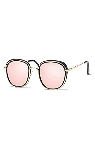 Tamaño Polarizadas Espejo De UV Gafas UV400 De Las Protección Hombres Gafas Sol Pink 0wUqTFTXn