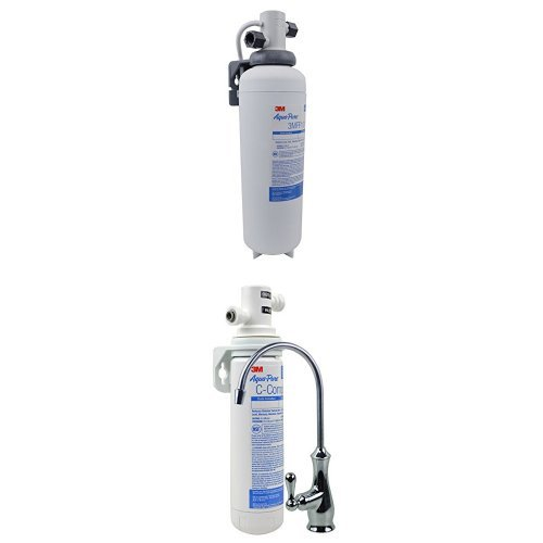 3M Aqua-Uncorrupted Under Sink Water Filtration System, Model 3MFF100, 5616318 & Aqua-Pure Under Sink Water Filtration System, Pattern AP Easy Complete
