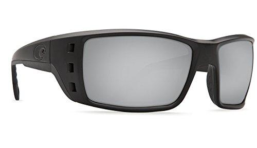 Costa Del Mar Permit 580G Permit, Blackout Silver Mirror, Silver - Costa Permit 580g