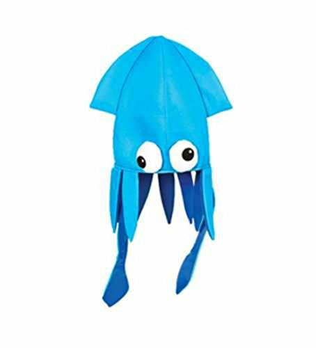 Play Kreative Beautiful Costume Squid Party Hat - Choose Your Color TM (Best Kreative Kids Kids Costumes)