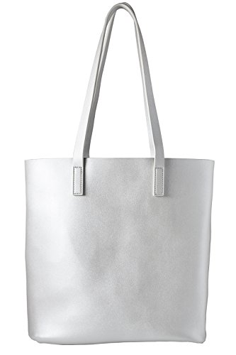 Cecilia & Bens Bag Synthetic Fabric Silver Womens Default