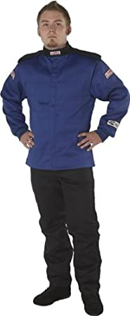 G-Force 4526XXLBU GF 525 Blue XX-Large Multi-Layer Racing Jacket