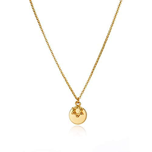 Molly B London | Girl's 18ct Gold Vermeil Star of David Necklace ()