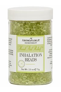 (Aromafloria Head Aid Relief Inhalation Beads - 2.5 oz.)