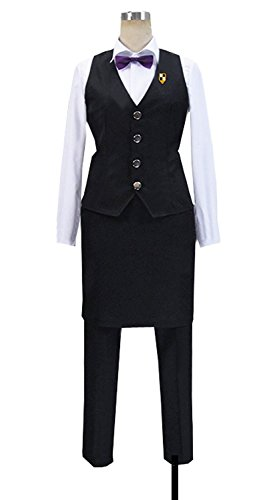 Dreamcosplay Anime Death Parade Decim Work Uniform Cosplay Costume by Dreamcosplay (Image #2)
