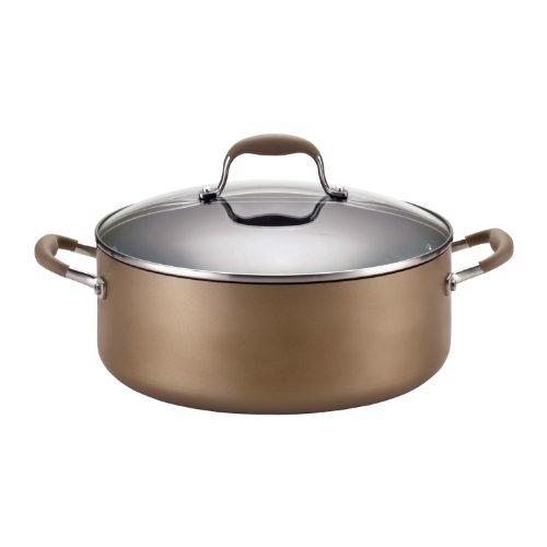Anolon Stock Pot (Anolon Advanced Bronze Aluminum Covered Wide Stockpot, 7.5 Quart)