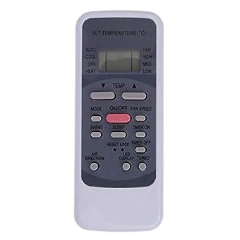 CHOUBENBEN Replacement Remote Control for Premium RG51ME//EU TGM RG51ME//EU Air Conditioner