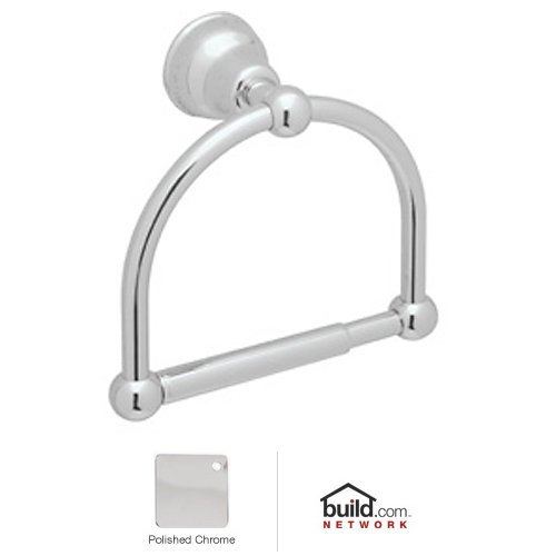 Cisal Paper Holders - Rohl CIS16 Cisal Single Post Toilet Paper Holder, Polished Chrome
