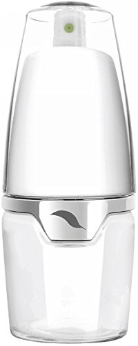 Prepara PP08-MLXCDU Deluxe - Pulverizador de aceite (cristal), color blanco