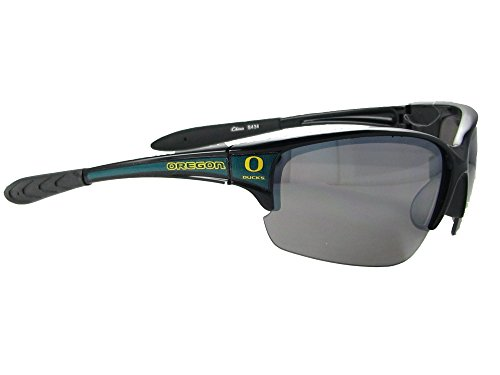 Oregon Ducks UO Black Green Elite Mens Sunglasses - Uva Oregon