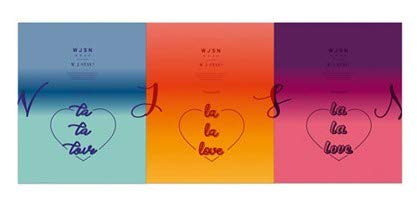 - Starship Entertainment WJSN Cosmic Girls - WJ Stay? (La La Love) [Ver. 1(Blue)] CD + Booklet + Official Photocard + Pre-order Benefit(Postcard) + Special 2-sided Photocard