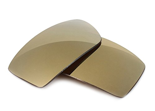 Fuse Lenses for Oakley Square Wire 2.0 - Bronze Mirror Tint by Fuse Lenses