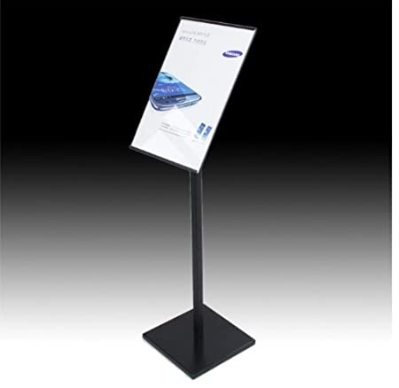Floor Standing Pedestal A3 Metal Sign Holder Floor Standsnap Frame