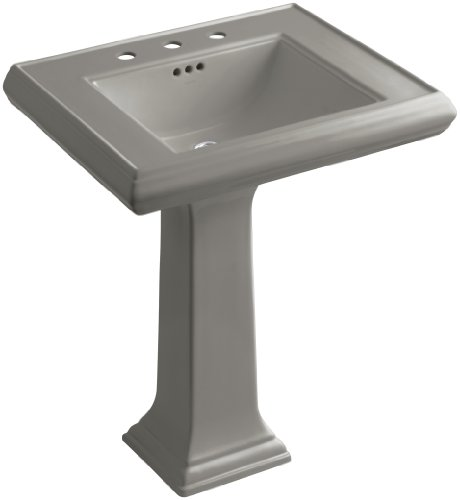 (KOHLER K-2258-8-K4 Memoirs Pedestal Bathroom Sink with 8