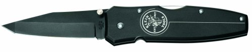 Klein Tools 44052BLK 2-3/4-Inch Blade Tanto Lockback Knife