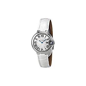 Cartier Ballon Bleu De Cartier Mujer 33mm Pulsera Piel Caja Acero Inoxidable Cuarzo Reloj W6920086 6