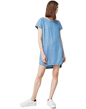 Mango Women's Denim Dress