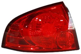 TYC 11-6002-00 Nissan Sentra Driver Side Replacement Tail Light Assembly