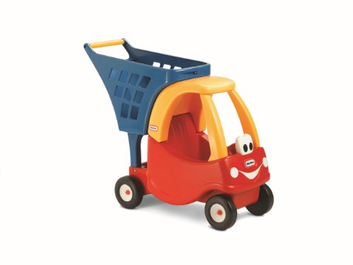 Little Tikes Cozy Shopping Cart Red/Yellow - Fisher Price Shopping Cart